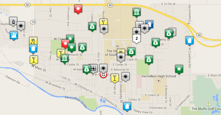 Crime Map View